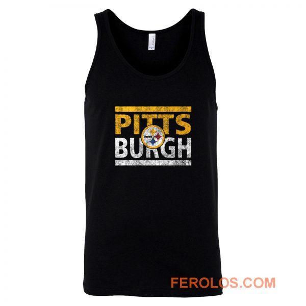 Pittsburgh Steelers Run Tank Top