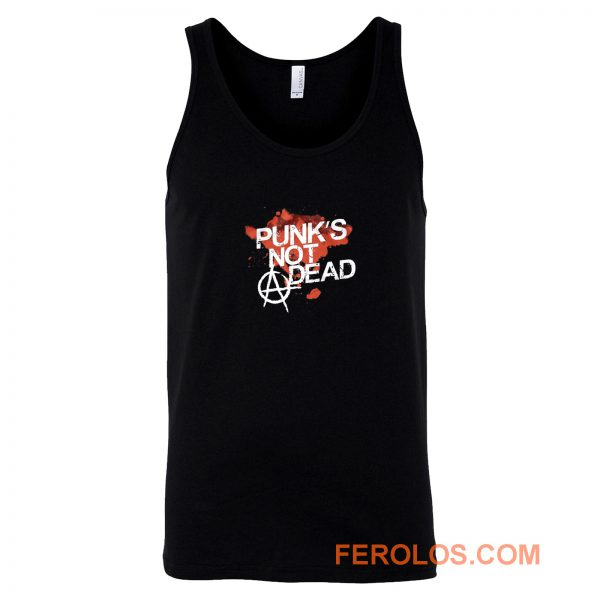 Punks Not Dead Rock Tank Top