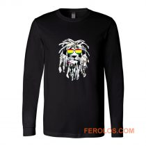 Rasta Lion Reggae Smoke Blunt Marijuana Weed Long Sleeve