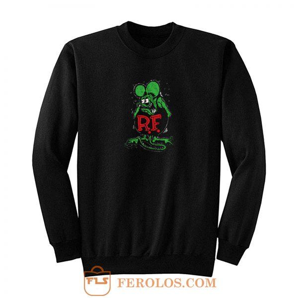 Rat Fink Ratfink Distressed Sweatshirt