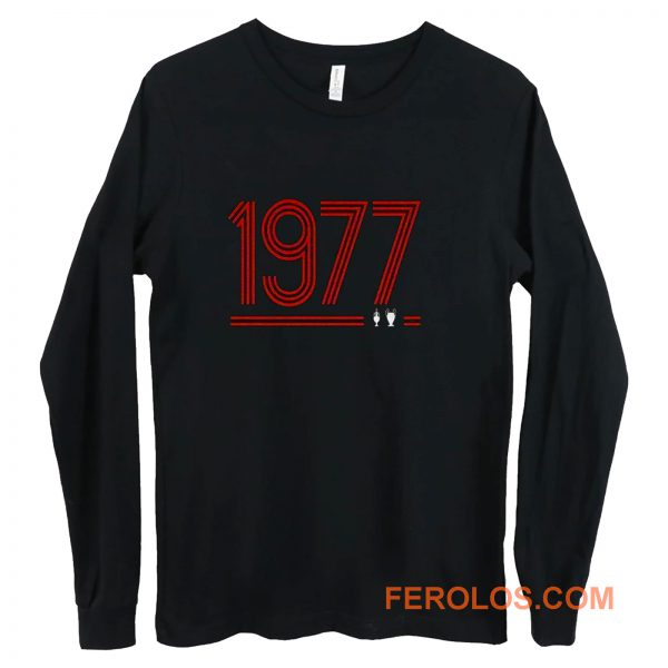 Retro 1977 Red Long Sleeve