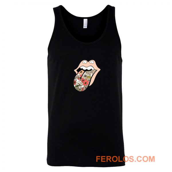 Rolling stones 70s floral Tank Top