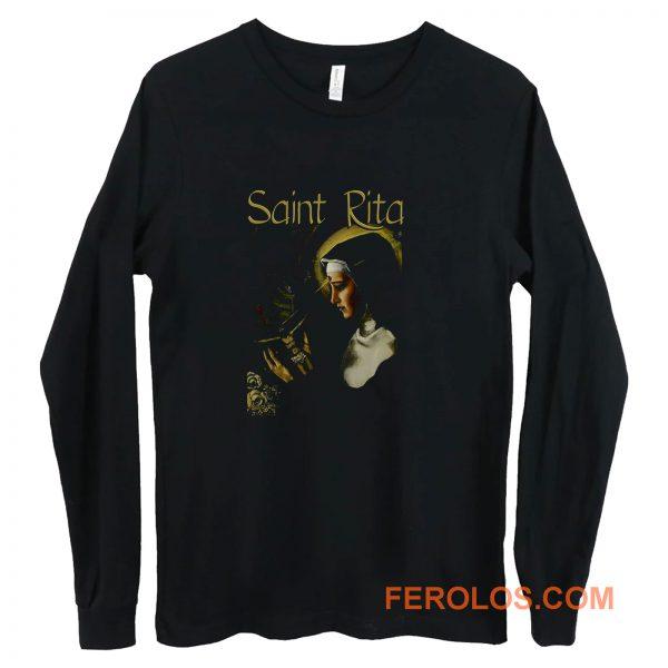 SAINT RITA Catholic Long Sleeve