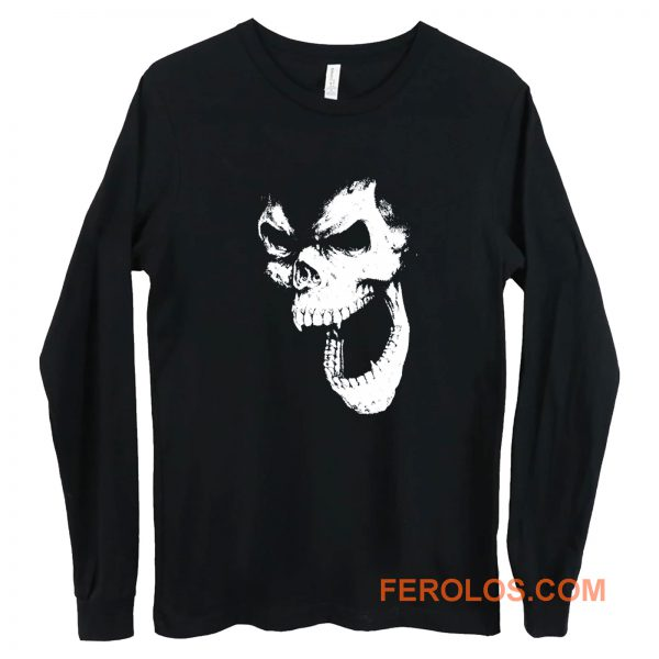 SKULL OUT BLACK Long Sleeve