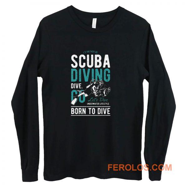 Scuba Diver Long Sleeve