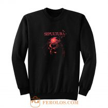 Sepultura Metal Rock Band Sweatshirt