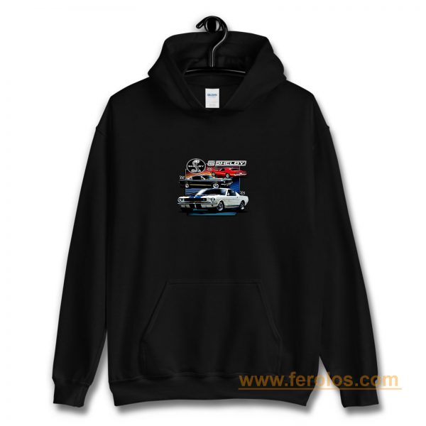 Shelby 69 Ford 65 Cobra Classic Vintage 1966 Muscle Cars Cars And Trucks Hoodie