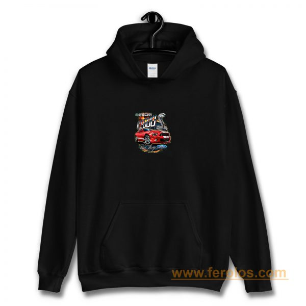 Shelby G.T. 500 Cobra Red Speedster Ford Motors Classic Cars And Trucks Hoodie