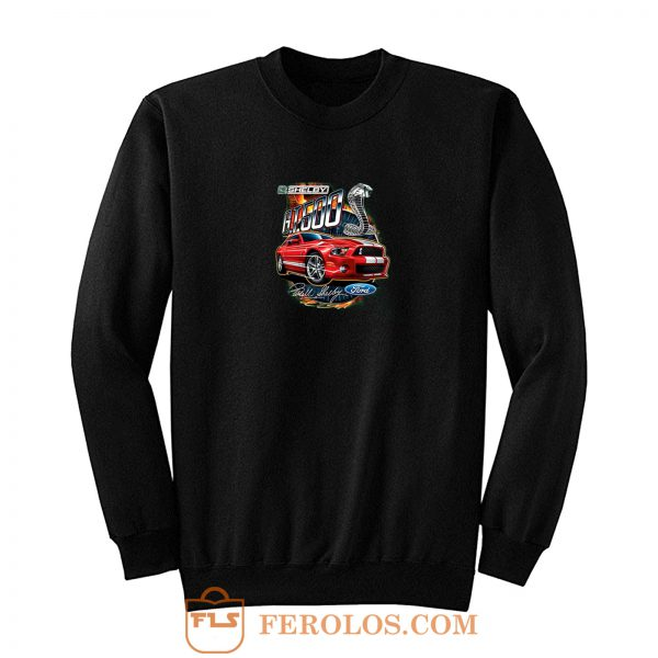 Shelby G.T. 500 Cobra Red Speedster Ford Motors Classic Cars And Trucks Sweatshirt