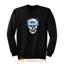 Stone Cold Steve Austin Smoking Skull Sweatshirt