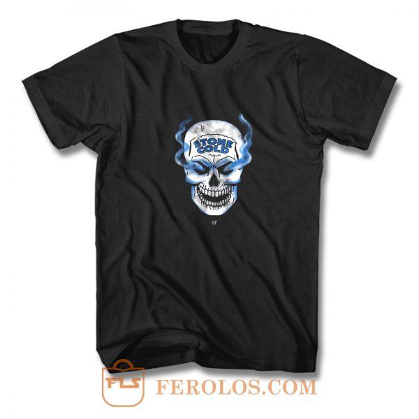 Stone Cold Steve Austin Smoking Skull T Shirt