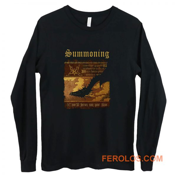 Summoning Let Mortal Heroes Sing Your Fame Long Sleeve