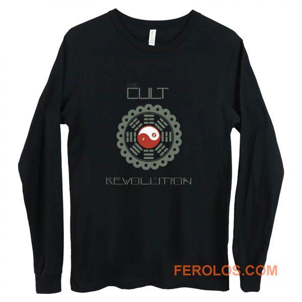 THE CULT REVOLUTION BLACK GOTHIC ROCK LOVE 1985 IAN ASTBURY Long Sleeve