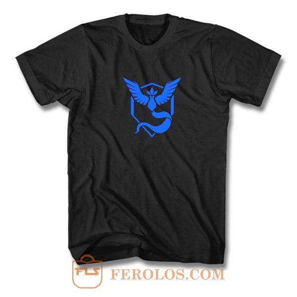Team Mystic Trainer Pokemon T Shirt