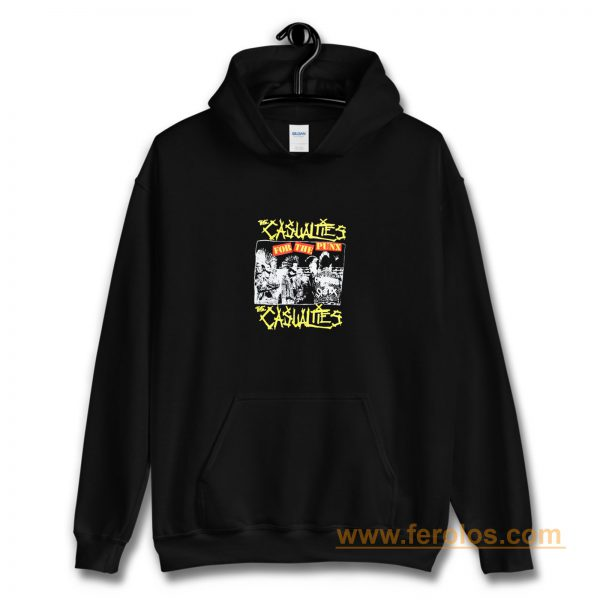 The Casualties Punk Band Hoodie