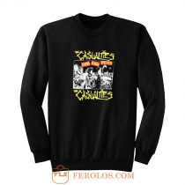 The Casualties Punk Band Sweatshirt