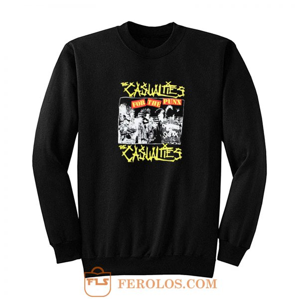 The Casualties Punk Band Sweatshirt