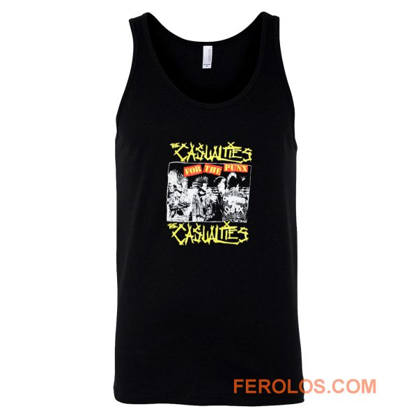 The Casualties Punk Band Tank Top