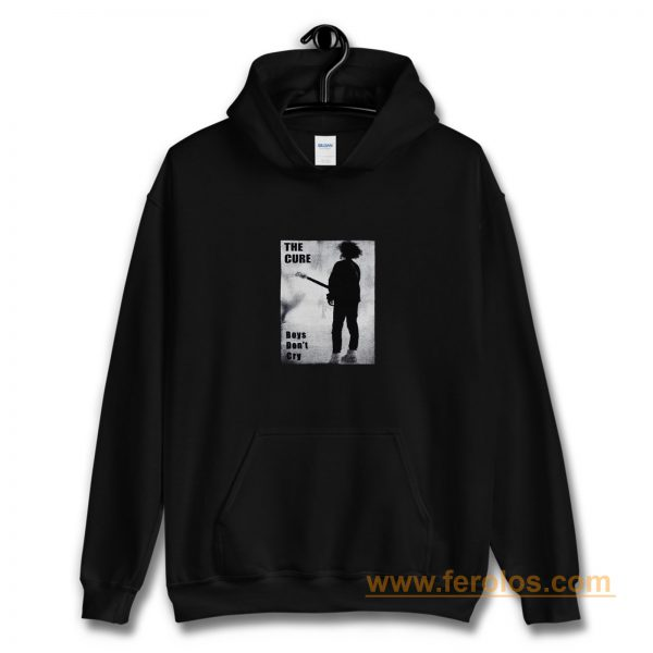 The Cure Boys Dont Cry Rock Band Hoodie