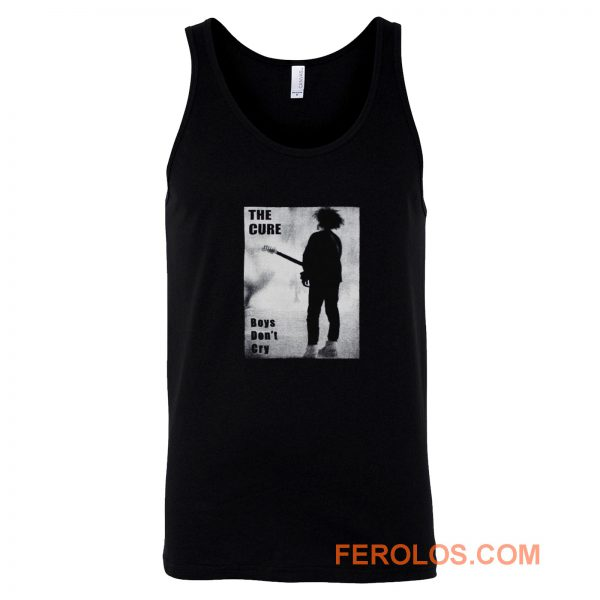 The Cure Boys Dont Cry Rock Band Tank Top