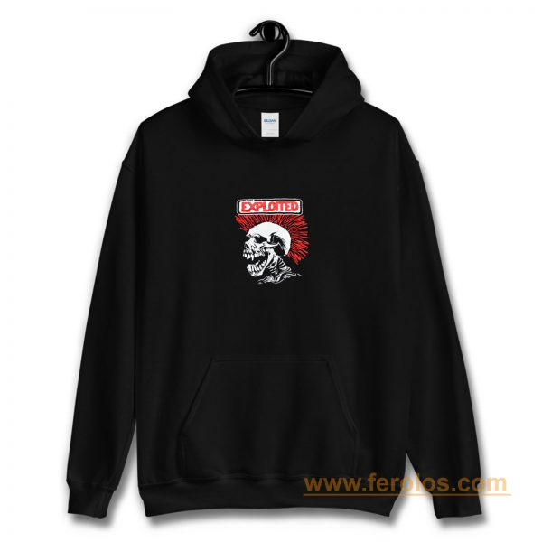 The Exploited Punk Band Hoodie