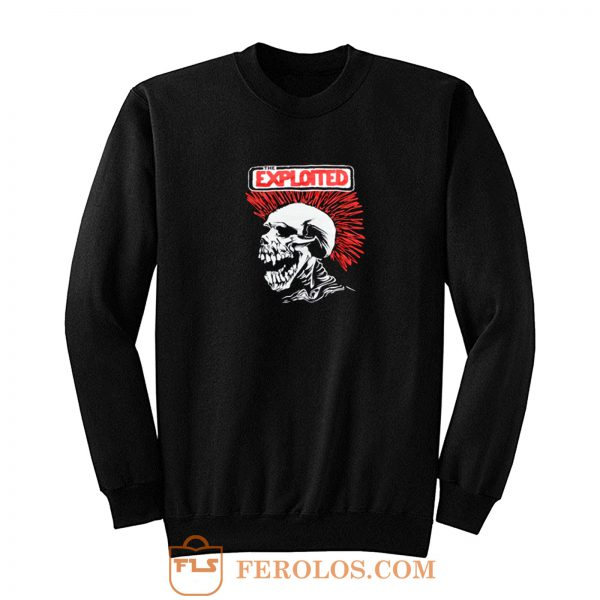 The Exploited Punk Band Sweatshirt
