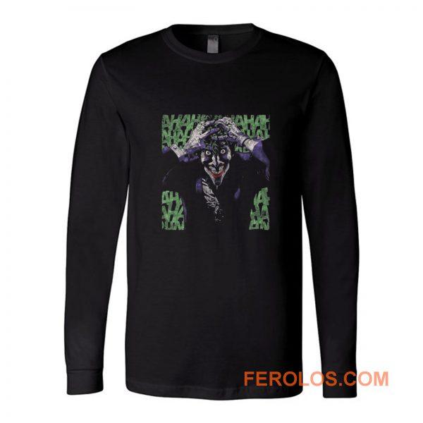 The Joker Insanity Batman Dc Comics Long Sleeve