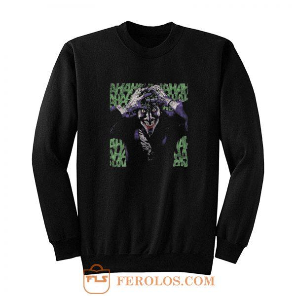 The Joker Insanity Batman Dc Comics Sweatshirt