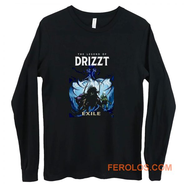 The Legend of Drizzt DoUrden EXILE Long Sleeve