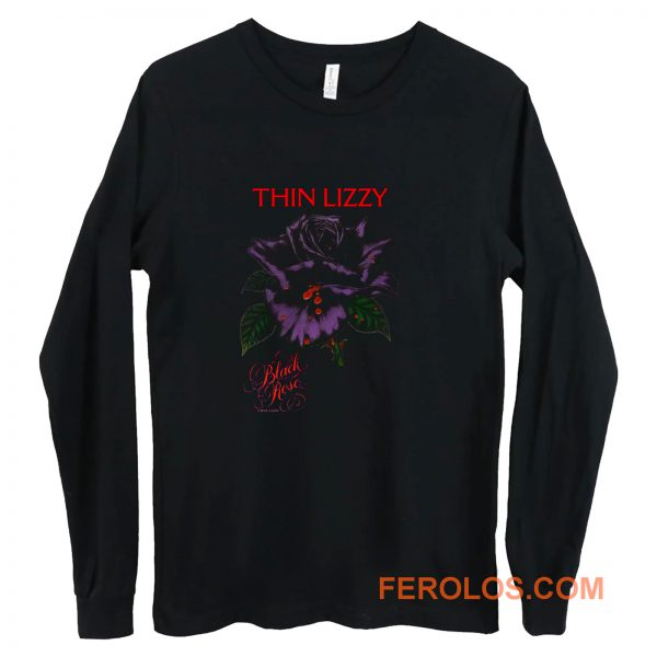 Thin Lizzy black rose Long Sleeve