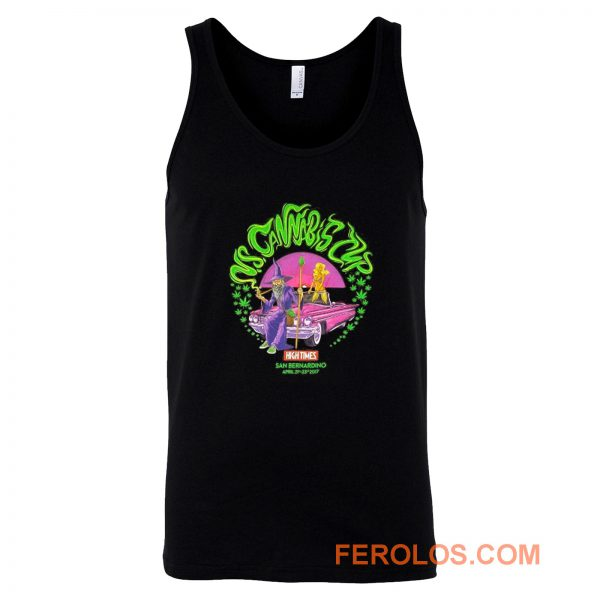 US Cannabis Cup Weed Wizard April 2017 Tank Top