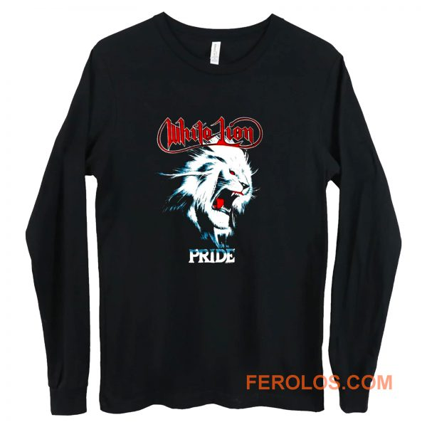 White Lion Band Pride Heavy Metal Hard Rock Band Long Sleeve