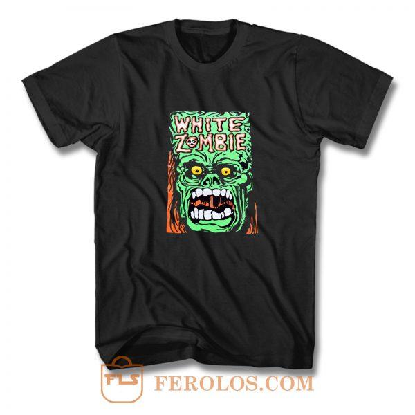 White Zombie Punk Rock Band T Shirt
