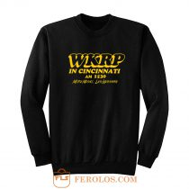 Wkrp In Cincinnati More Music Less Nessman Sweatshirt