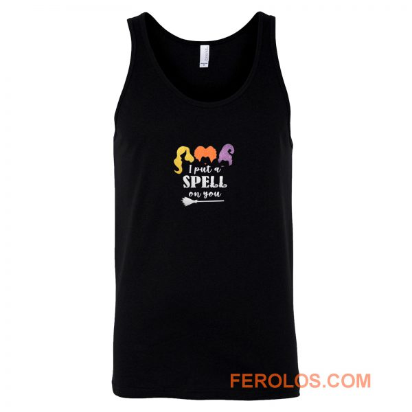 Womens I Put A Spell On You Hocus Pocus Tank Top