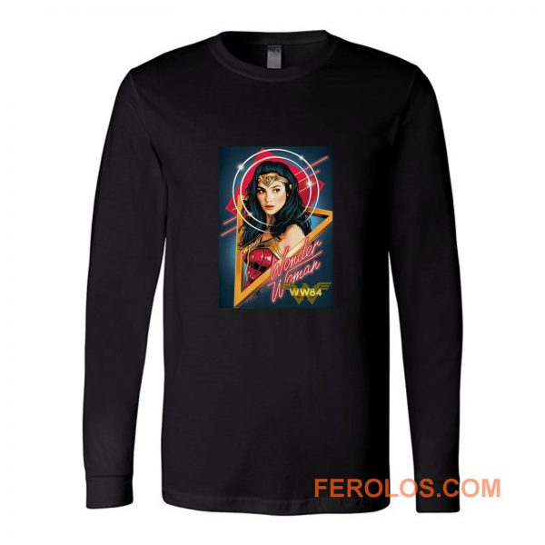 Wonder Woman 1984 Dc Movie Justice League Movie 2020 Long Sleeve