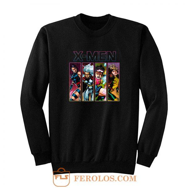 X Men 90s X Ladies Sweatshirt