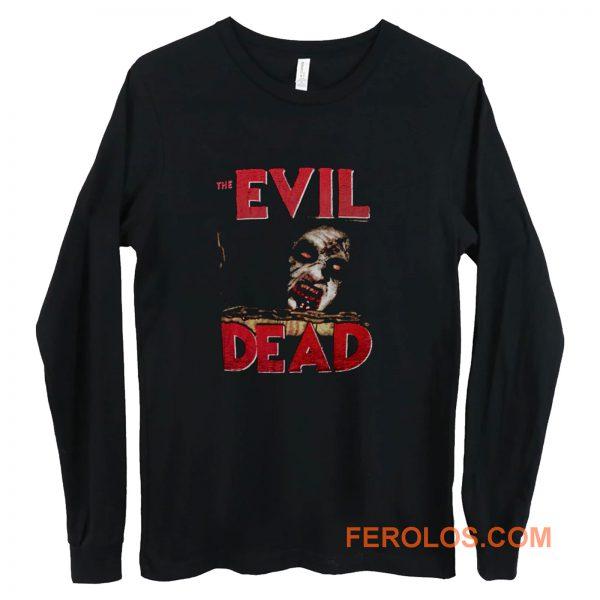 the evil dead zombie horror tanz der teufel Long Sleeve