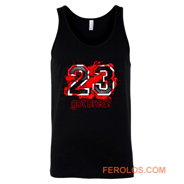 23 Got Bred Match Retro Air Jordan Tank Top