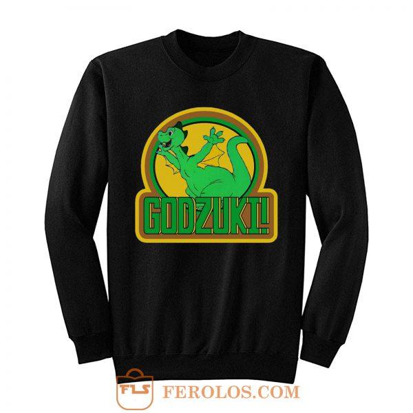 70s Cartoon Classic Godzilla Godzuki Sweatshirt