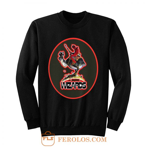 70s Ralph Bakshi Animated Classic Wizards Sweatshirt