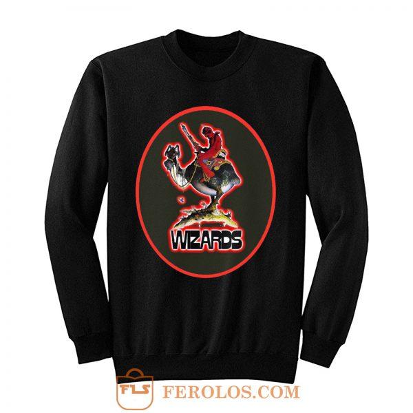70s Ralph Bakshi Animated Classic Wizards Sweatshirt