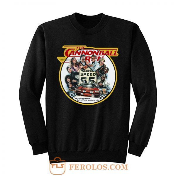 80s Burt Reynolds Classic The Cannonball Run Sweatshirt