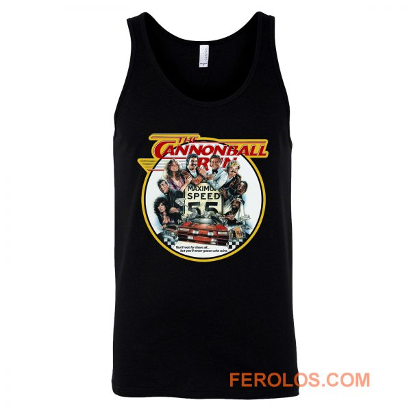 80s Burt Reynolds Classic The Cannonball Run Tank Top
