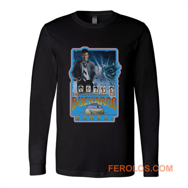 80s Classic Adventures of Buckaroo Banzai Long Sleeve
