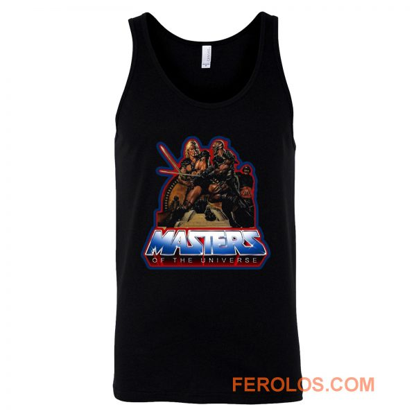 80s Classic Masters of the Universe He Man And Blade Tank Top
