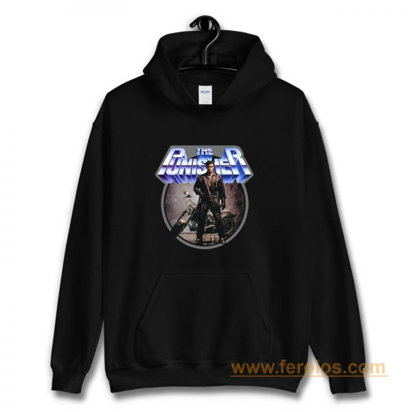 80s Comic Classic The Punisher Hoodie