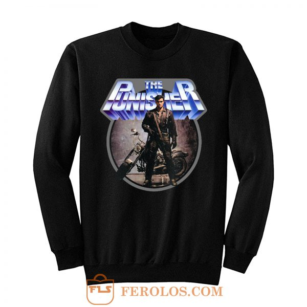 80s Comic Classic The Punisher Sweatshirt