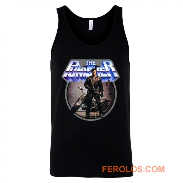 80s Comic Classic The Punisher Tank Top