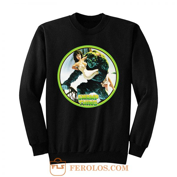 80s Wes Craven Classic Swamp Thing Sweatshirt